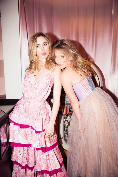 suki waterhouse and poppy on their new bag line coveteur