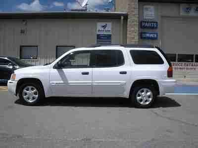 2003 gmc envoy white sell used 2003 gmc envoy xl sle white 1owner in edgewood