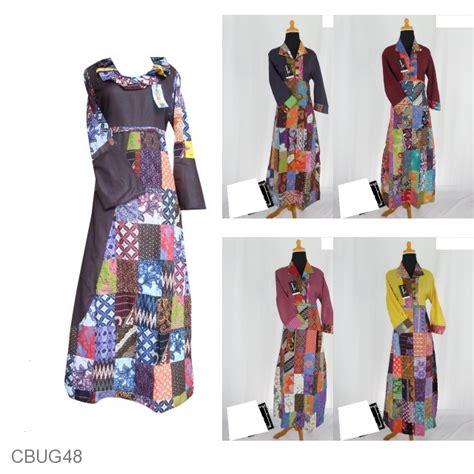 Baju Batik Gamis Murah baju batik gamis motif batik perca gamis batik murah