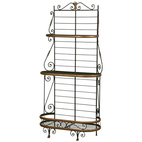 Metal Bakers Rack by Vintage Iron And Brass Baker S Rack Circa 1920 At