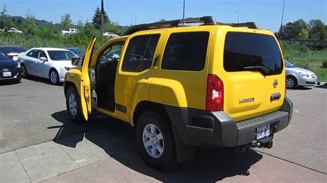 nissan xterra yellow stock   youtube