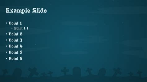 Free Halloween PowerPoint Template   PowerPoint Tips and