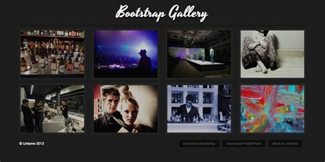 bootstrap themes image gallery how to build a responsive lightbox gallery with twitter