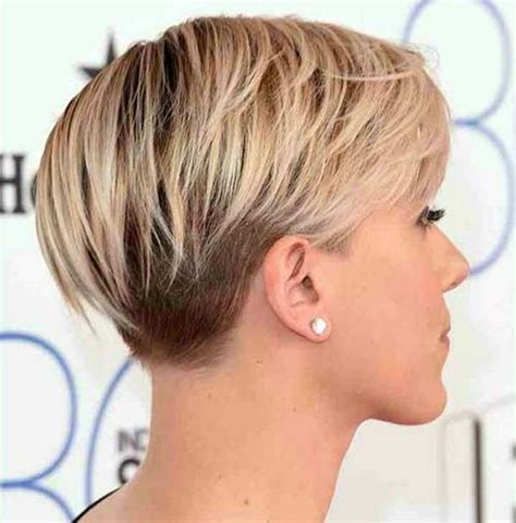 the back of sharon stines short bob the hairstyle stacked short haircuts 2010 back views and