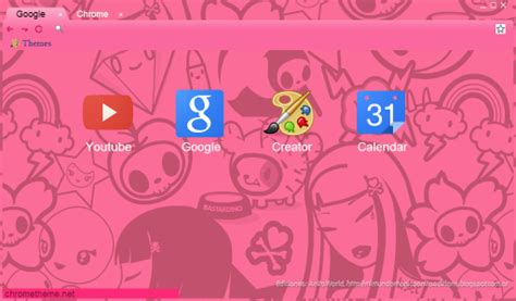 theme google pink theme google chrome crazy pink by anitaediciones by