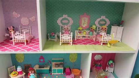 lalaloopsy mini doll house diy dollhouse for mini lalaloopsy dolls from a closetmaid mini cubeical organizer