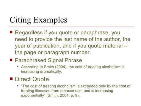how to write a quote in a research paper the research paper and citation methodology