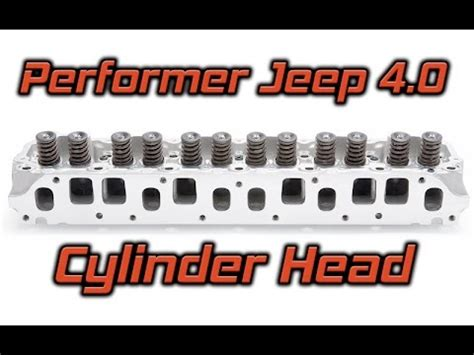 Jeep 4 0 Performance Cylinder Edelbrock Performer Jeep 4 0 Cylinder
