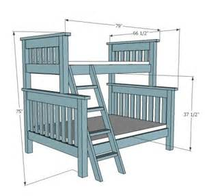 Simple Bunk Bed Plans Woodwork Simple Bunk Bed Plans Pdf Plans