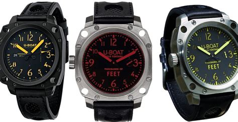 u boat watch most expensive u boat thousands of feet replica watches
