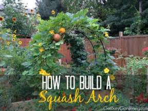 How To Make A Vegetable Trellis How To Build A Squash Arch