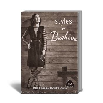 supplemental to sprague families in america classic reprint books styles s knitwear and knitted accessories beehive