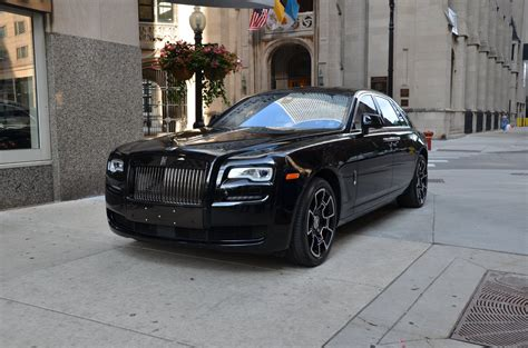 roll royce black 2017 rolls royce ghost black badge stock l406a for sale