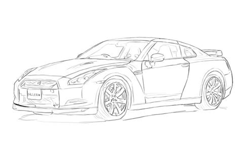 nissan leaf coloring pages free coloring pages of nissan nissan gtr