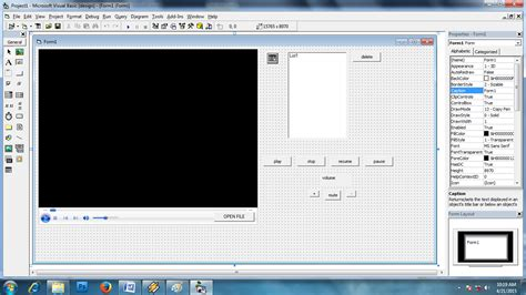 gambar desain visual basic deden diki septiana program windows media player pada