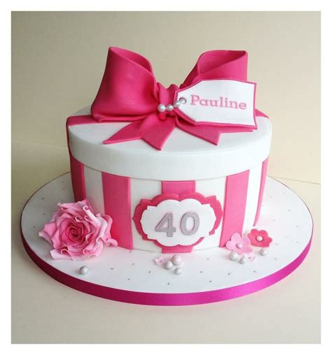 pink 40yeras old 28 best torta caja images on pinterest cakes 40 years