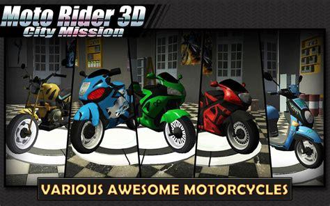 moto rider  city mission indir android icin motor