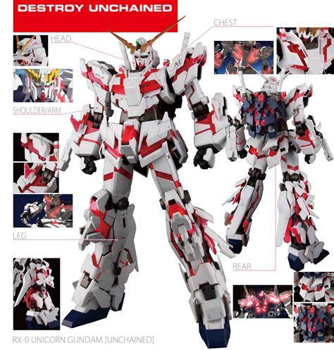 Pg Armor Unit For Unicorn Gundam Bandai pg 1 60 rx 0 unicorn gundam release info box and official images gundam kits collection