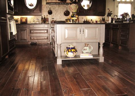 Portable Islands For Kitchens wide plank distressed reclaimed wood flooring tiles for