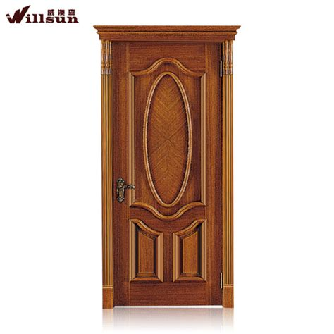 House Front Single Door Design by 2015 Wooden Door Design House Exterior Door Panel