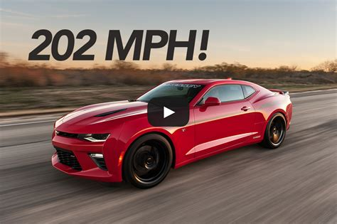 camaro ss hennessey 751 hp hennessey camaro ss tested to 202 1 mph hennessey