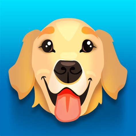 golden retriever emoji goldenmoji golden retriever emojis by gratton ventures inc