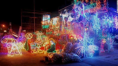 christmas lights in the san fernando valley san fernando philippines home of the lantern cnn