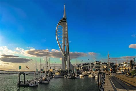 in portsmouth free photo portsmouth spinakker tower port free image