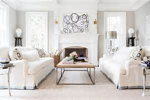 living room settee chic elegant living room boasts white skirted sofa with
