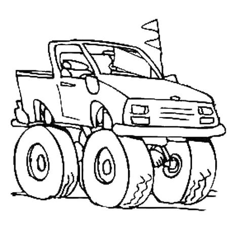 Monster Truck Coloring Pages Coloring Pages To Print Coloring Pages Trucks