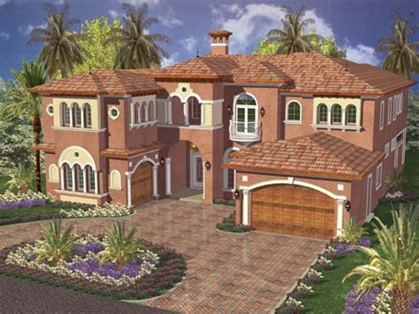 two story florida house plans florida style house plans 5547 square foot home 2 story 5 bedroom and 4 bath 3