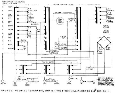 simpson housing simpson 260 multimeter schematic simpson 260 schematic diagram elsavadorla