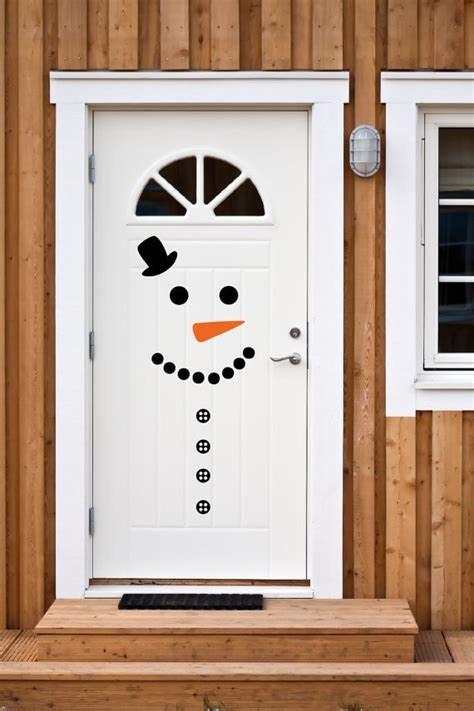 Snowman Door by Snowman Decorating Ideas For Glitter N Spice