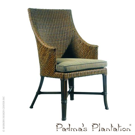 Outdoor Dining Chairs Palm Outdoor Dining Chair Padma S Plantation Metropolitandecor