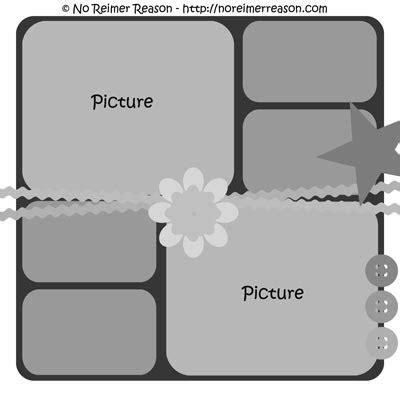 free digital scrapbook layout templates www pixshark com
