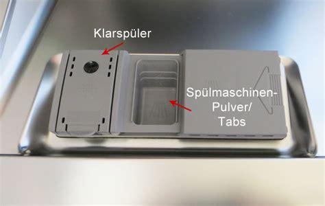 Siemens Geschirrspüler Klarspüler Dosierung by Wissen In Der Hauswirtschaft Geschirrsp 252 Len