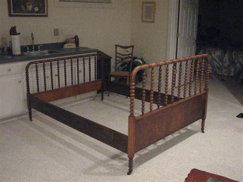 jenny lind queen bed craft on planet mum thrift store finds