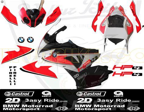 Motorrad Decal Kit by Vulturbike Bmw S1000rr Hp4 Sticker Kit Green Neon