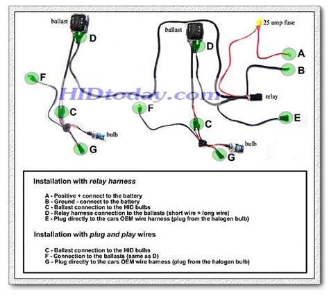 hid relay capacitor diagram hid edge wiring diagram get free image about wiring diagram