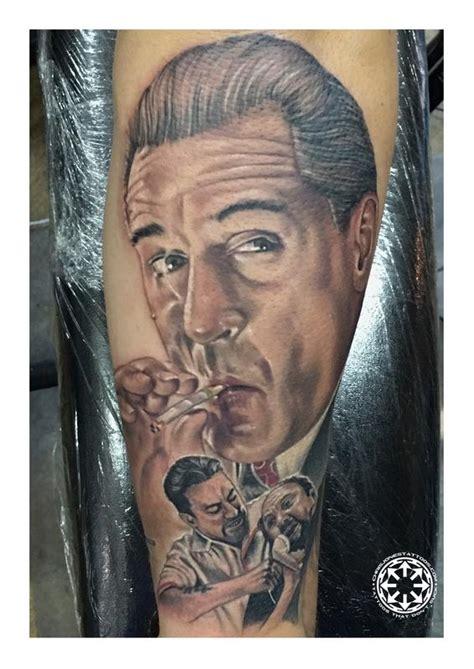 robert de niro tattoo robert de niro color portrait by chris jones tattoonow