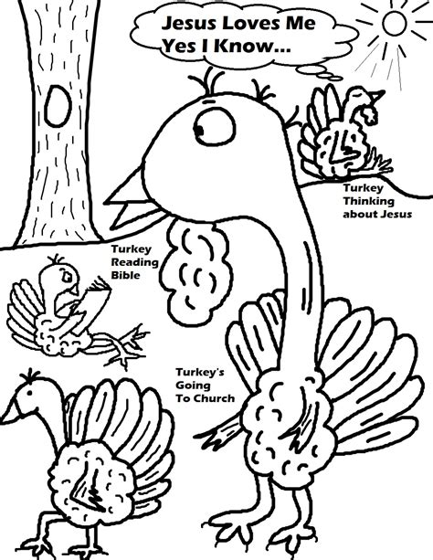 free religious thanksgiving coloring pages