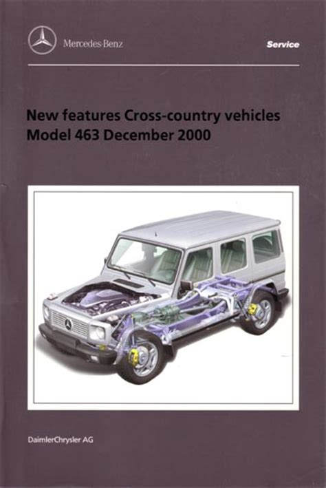 g class 463 gelaendewagen owners manuals and operating instructions gelandewagen series 461 and 463 introduction into service gel 228 ndewagen to uk and usa