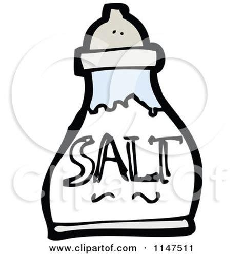 shaker clip art cartoon clipart of a scared salt shaker mascot vector