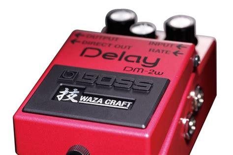 Delay Waza Craft Dm2w Guitar Effect Pedal dm2w delay waza craft pedal