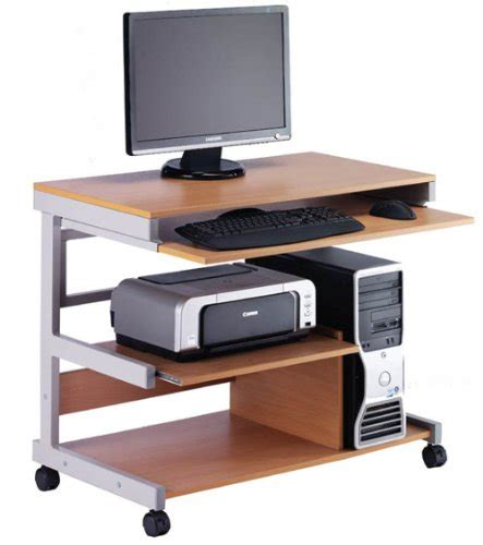 Workstation Computer Desk Hopco Mobile Tower Computer Workstation Desk Furniture Uk