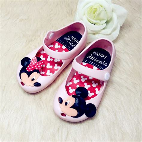 baby jelly shoes size 4 fashion minnie mickey baby jelly shoes