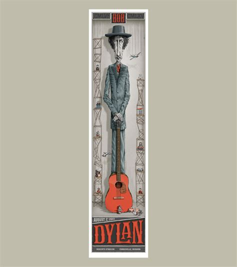 Design Collective bob dylan poster dig my chili
