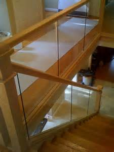 glass panels in wood frame