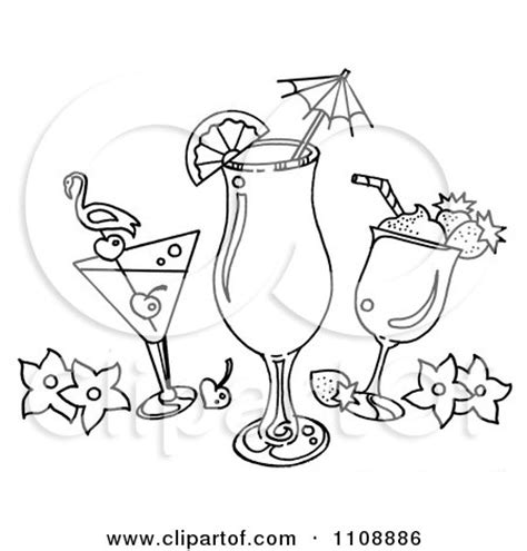 mixed drink clipart black and white tropical drink cartoon girls wallpaper
