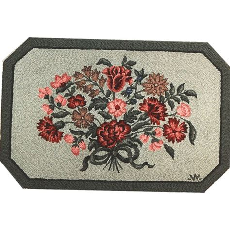 Americana Throw Rugs by American Made Hooked Area Rugs In Island Vintage